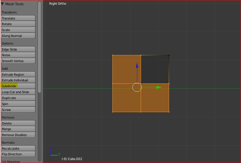 Making a character model Blender 2 57 Part one