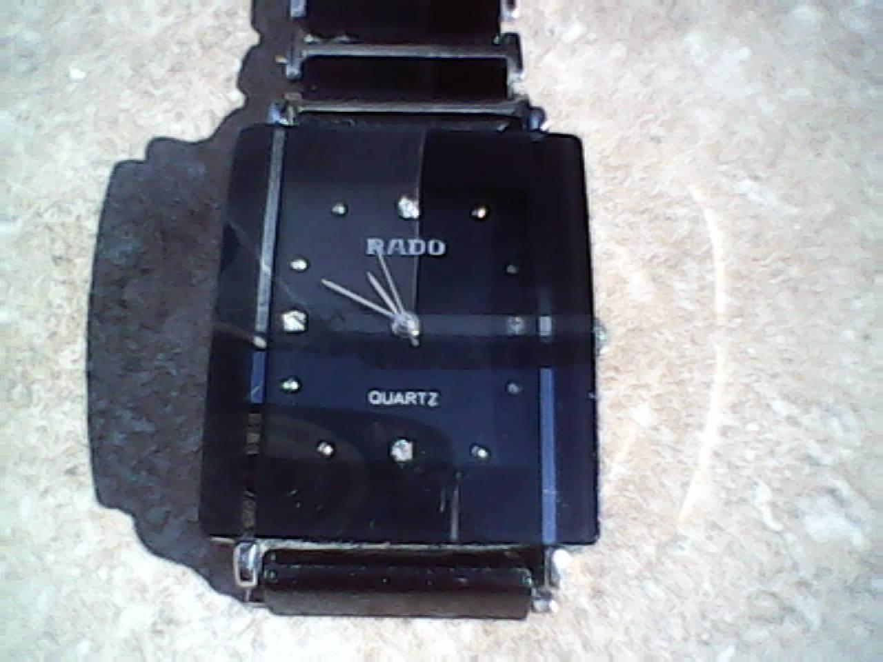 122baa0a555 Outro modelo de relógio da marca Rado.