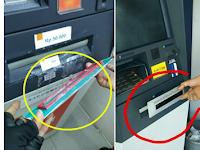 Begini Modus Penipuan Baru di ATM, Tolong Sebarkan Agar Sampai Jatuh Korban Lagi!