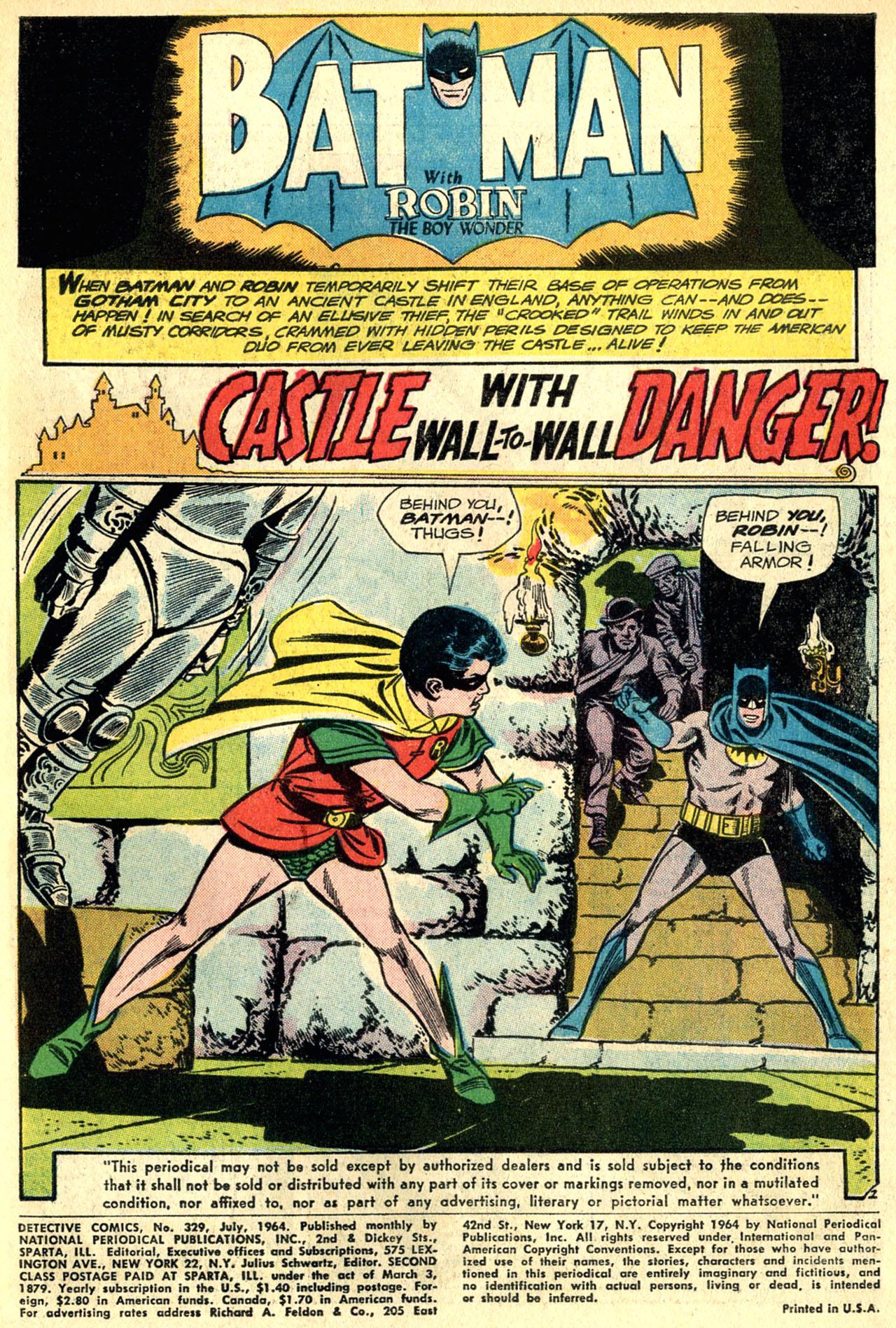 Detective Comics (1937) 329 Page 2
