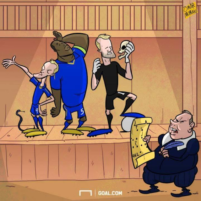 Craig Shakespeare cartoon William