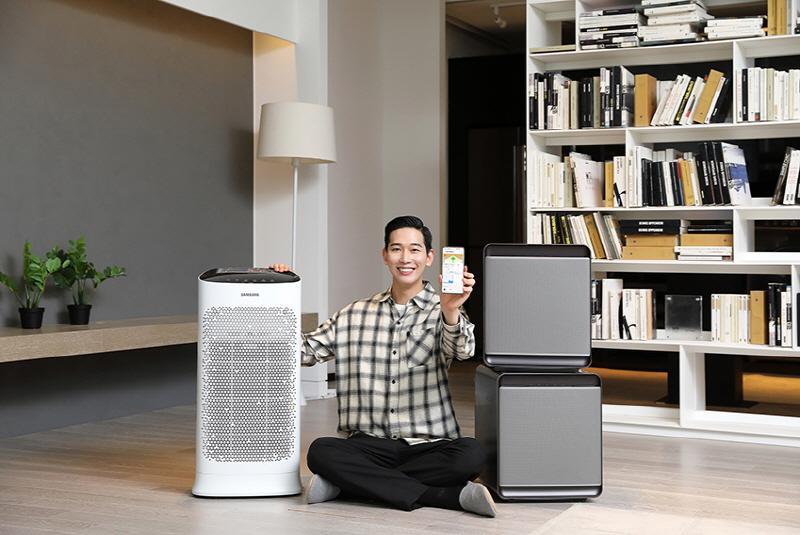 삼성전자, 실내 공기질 통합 관리 서비스 '스마트싱스 에어' 출시