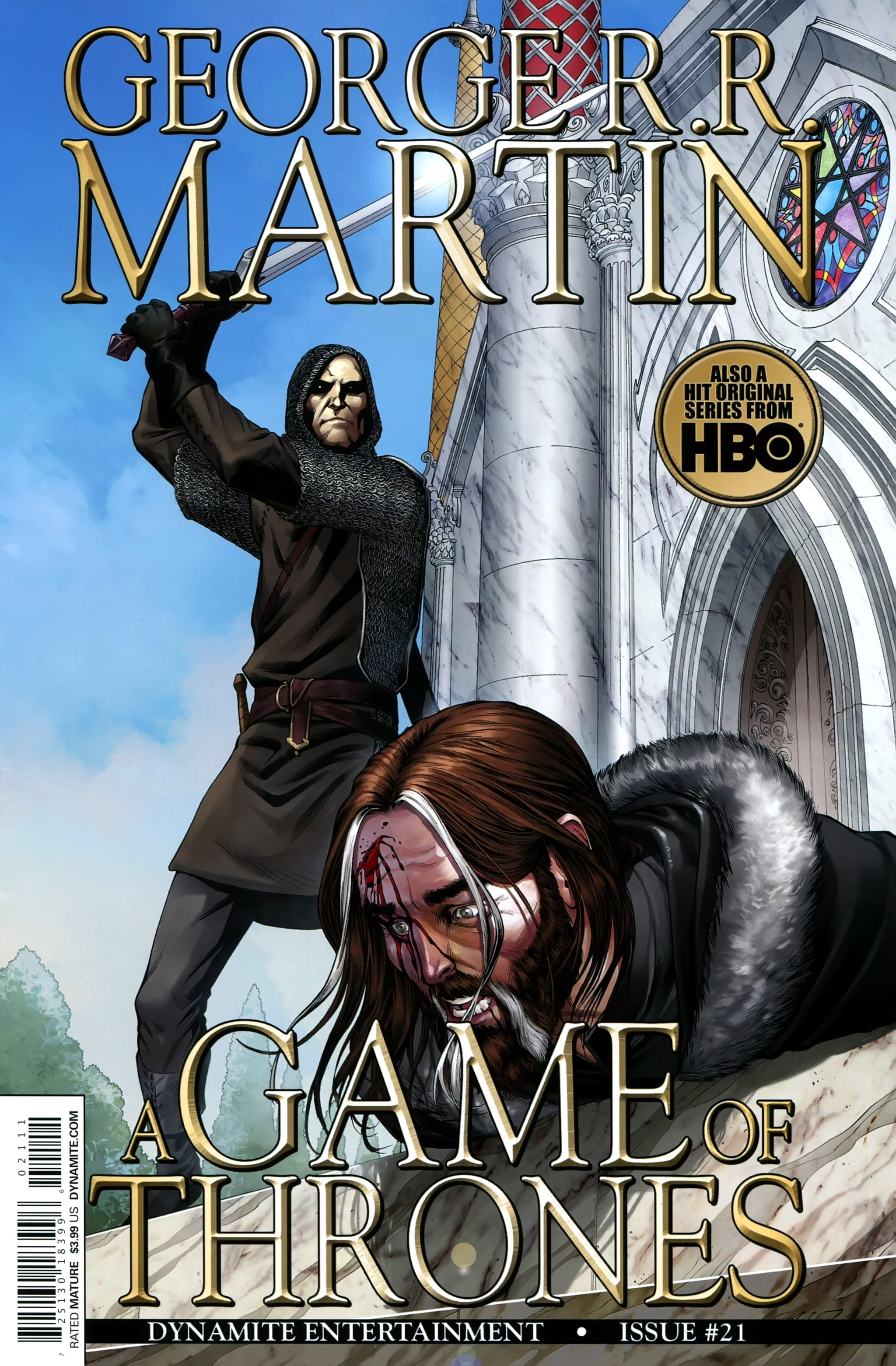 Read online A Game Of Thrones comic -  Issue #21 - 1