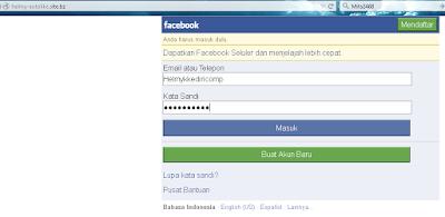 Cara Membuat Web Phising Facebook