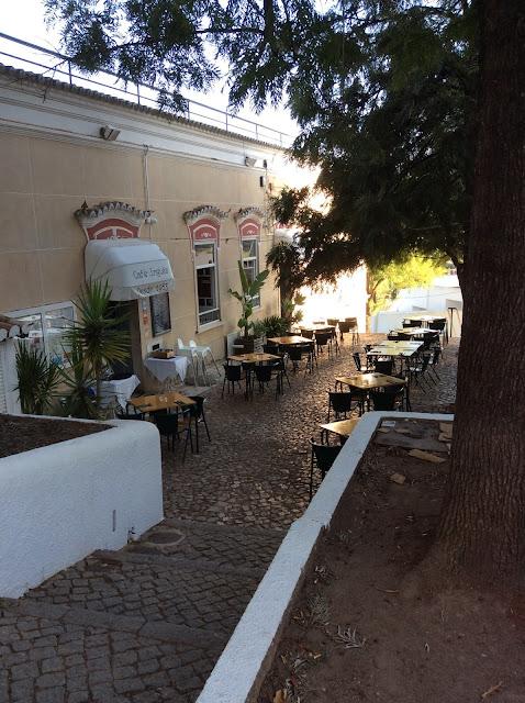 Café Inglês - Silves, Algarve, Portugal