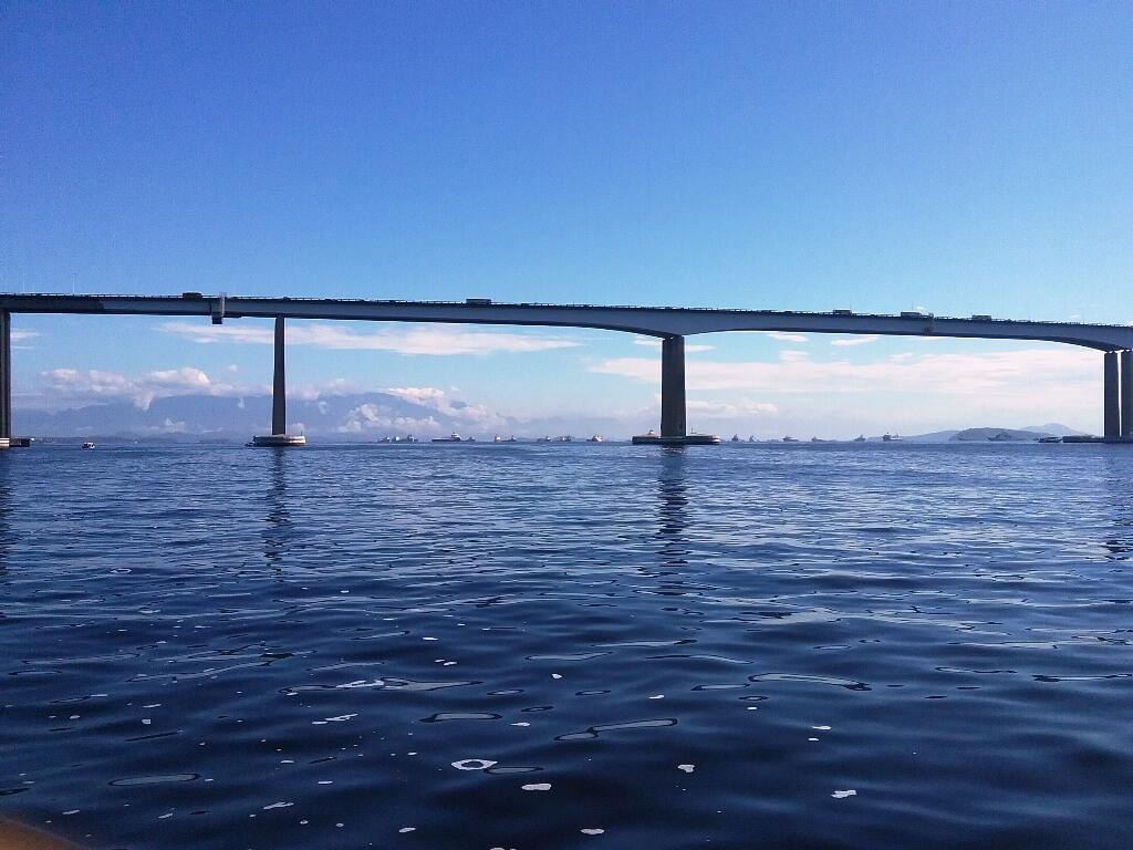 Passeio de barco pela Baía de Guanabara