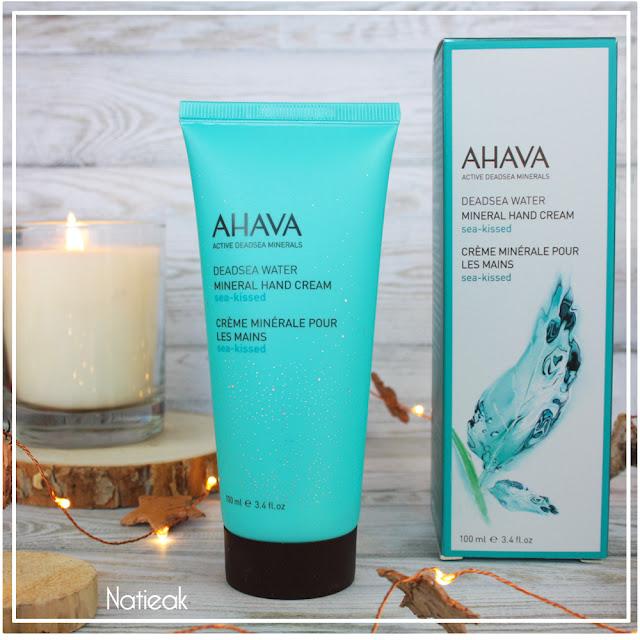 Sea-kissed  Crème minérale pour les mains de Ahava