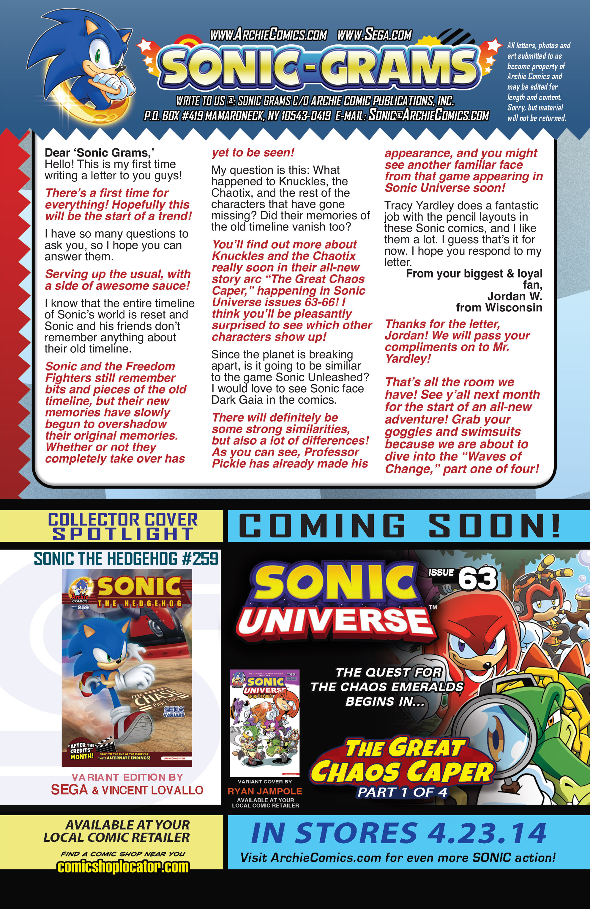 Read online Sonic The Hedgehog comic -  Issue #259 - 25
