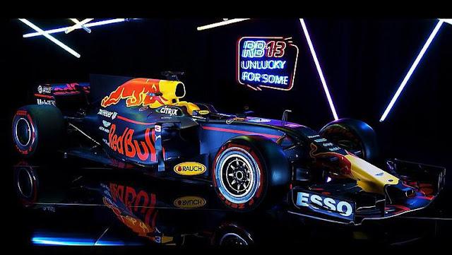 Red Bull Luncurkan RB13, Bidik Kembali Singasana F1