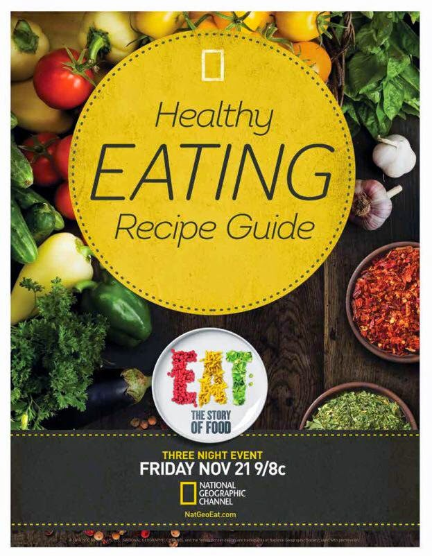 Eat the Story of Food Recipe Book