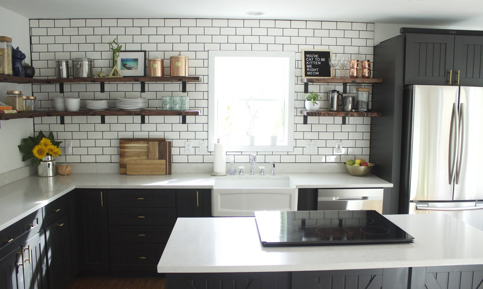 Kitchen Remodel // Before and After   Ivy Wild Design Co