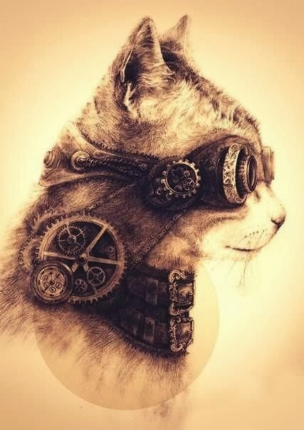 On cats, clockwork and otherwise...