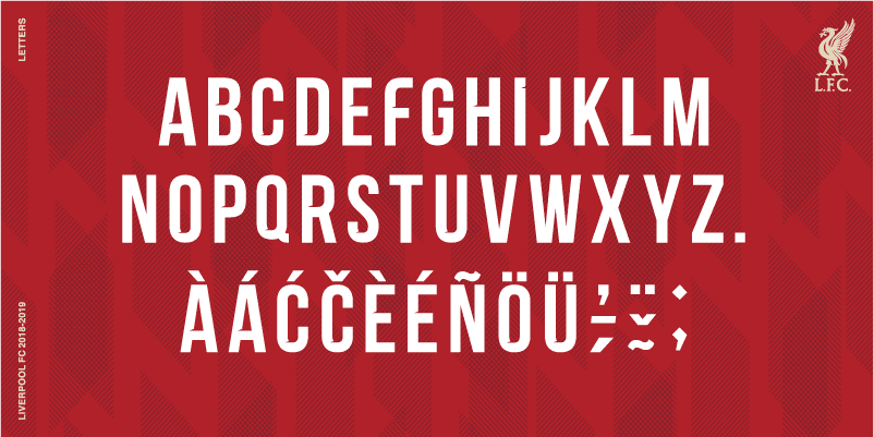 Liverpool Font 2018 Related Keywords & Suggestions