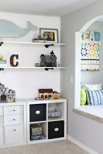 Kids Bedroom Organization Ideas