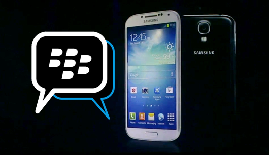 BlackBerry Messenger untuk Android di Samsung Galaxy