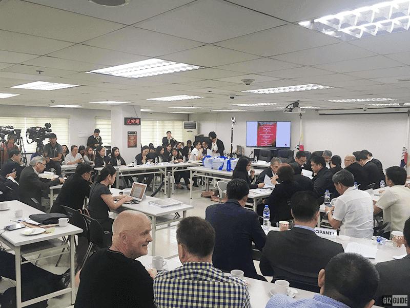 During the third telco selection process at NTC last November 7