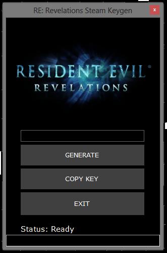 Resident Evil Revelations Crack and Keygen Free Download No Survey