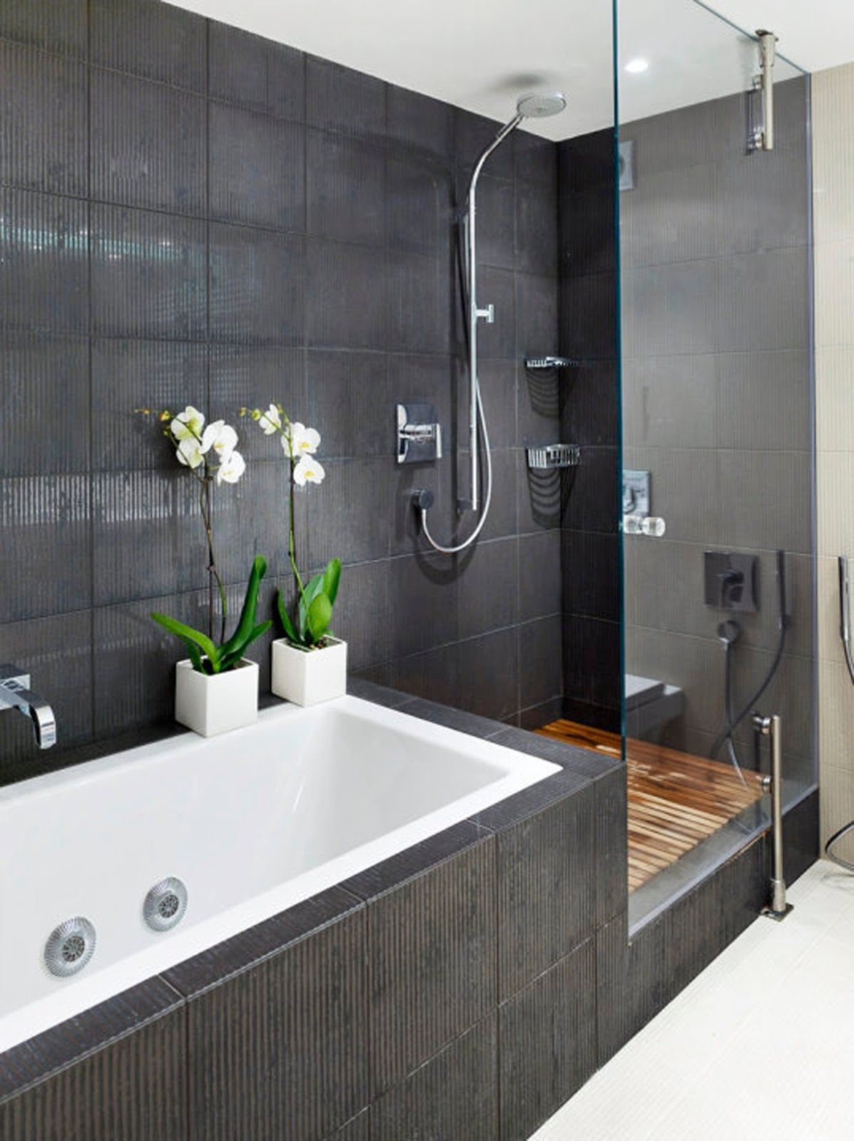 best dark bathroom design idea to copy