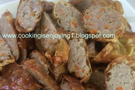 simple dishes membuat ngohiong ayam