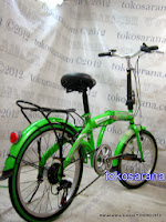 Sepeda Lipat Regazza RZ-2006AS2P 6 Speed 20 Inci 2