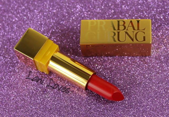 MAC Monday: Prabal Gurung - Carmine Rouge Lipstick Swatches & Review