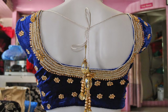 Models Of Blouse Designs Indian Party Wear Blouses Neck