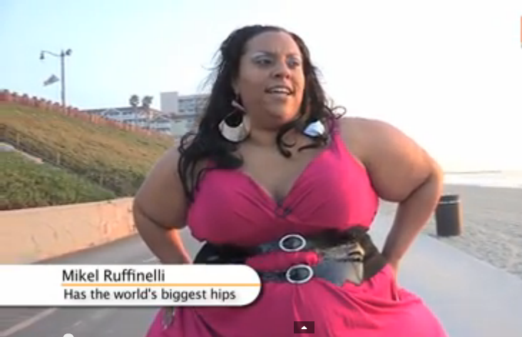 Woman With The Biggest Hips