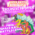 Free Exclusive Space Monster BattleCard for Hyper Battle Kaiju Fight Game