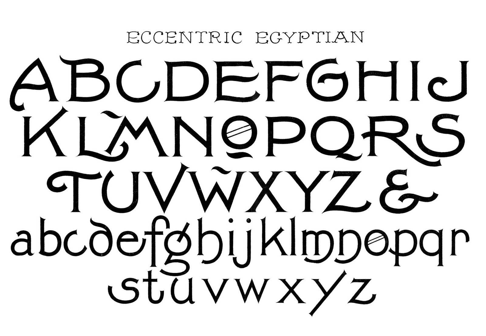 Cool Alphabet Fonts Styles