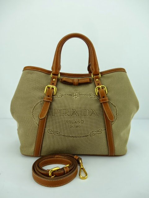 ab1c81228d86b6 ... netherlands prada bn1841 bauletto aperto logo jacquard shopping tote bag  corda brandy 2a597 df960