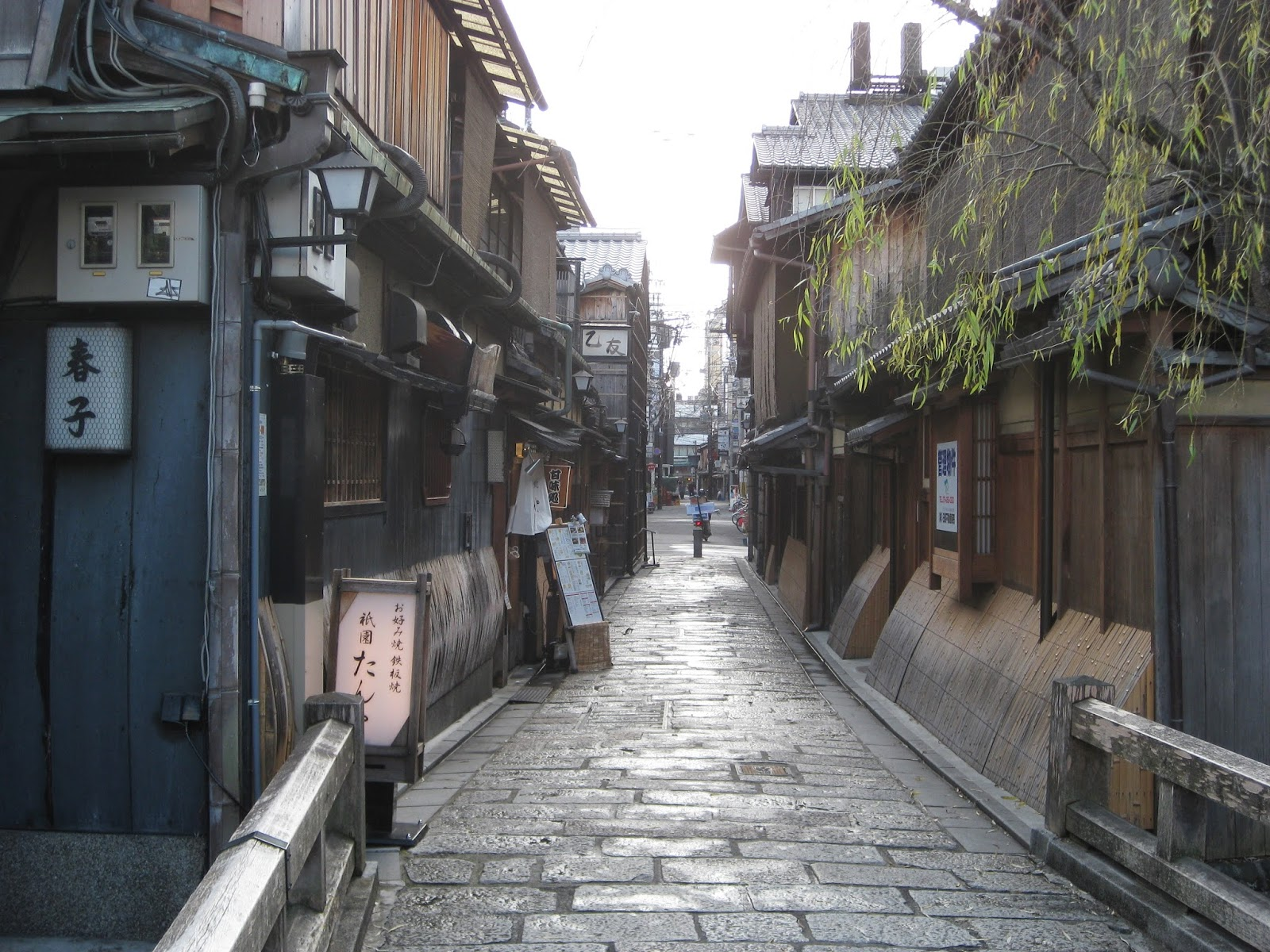 Kyoto - Streets in the Gion district