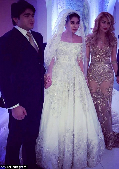 90c4a62c3 Russian oil tycoon s daughter marries in a lavish ceremony that ...