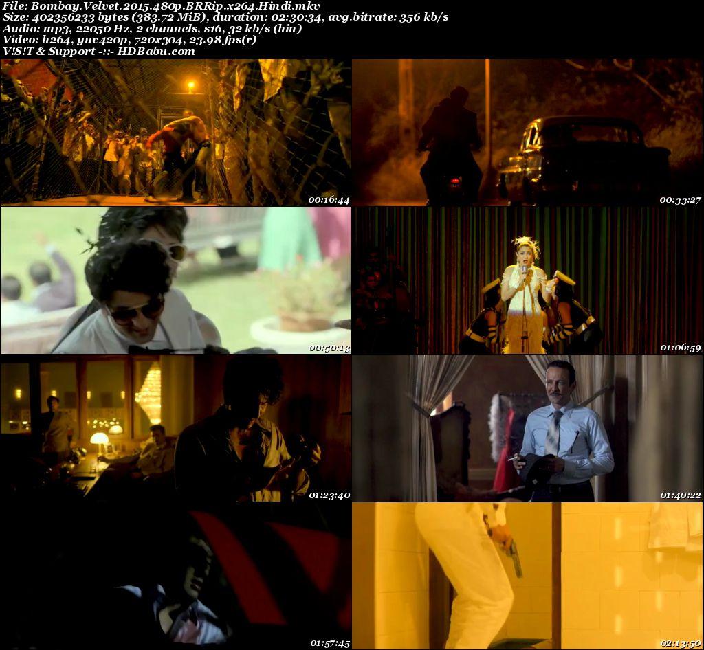 Bombay Velvet 2015 480p BRRip x264 Hindi Screenshot Screenshot