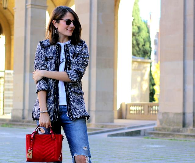 Toque formal para un look informal