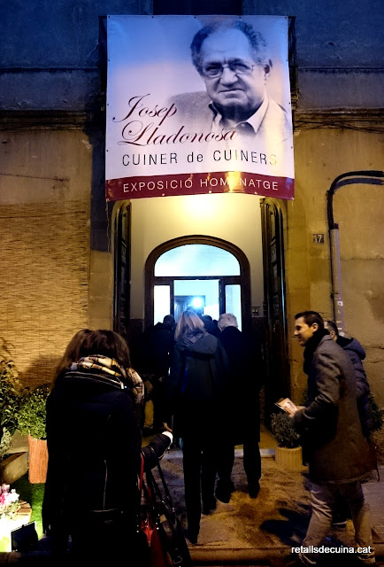 Exposició homenatge a Josep Lladonosa, Cuiner de Cuiners