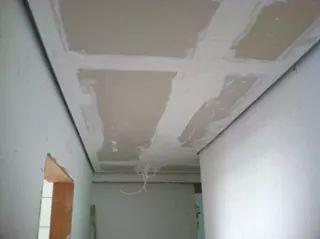 tecto falso com alheita