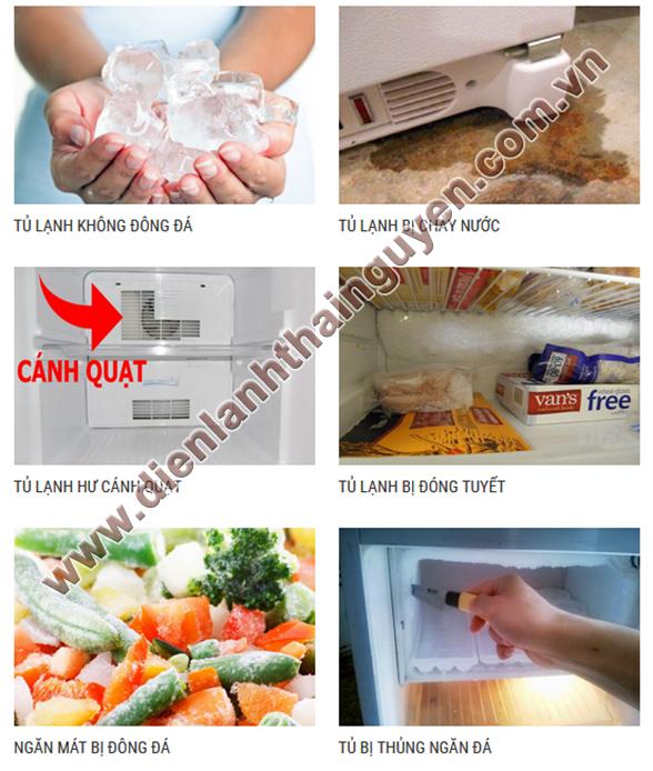 Xử lý nhanh các lỗi khi Sửa tủ lạnh tại Thái Nguyên