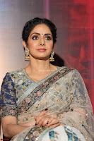 Sri Devi in designer saree stunning beauty at the launch of MOM movie Trailer~  Exclusive 108.JPG