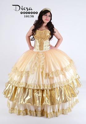 modelos de Vestidos de xv años