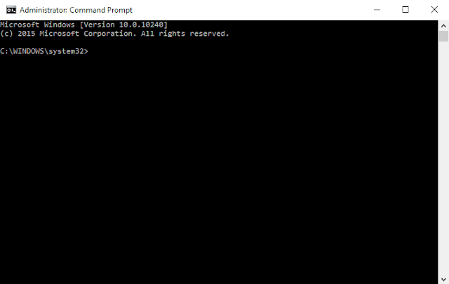 How to open Elevated Command Prompt on Windows 10