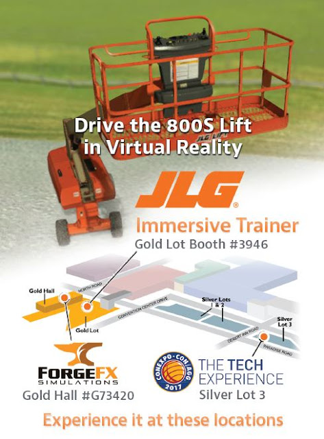 JLG Industries, VR Immersive Training Simulator