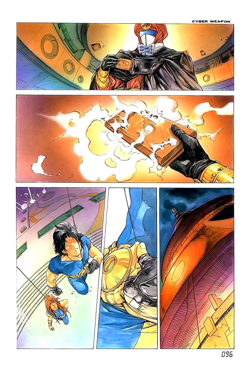 Cyber Weapon Z - Siêu Thần Z chap 2 - Trang 34