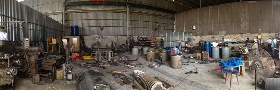 Image result for xưởng sản xuất cơ khí