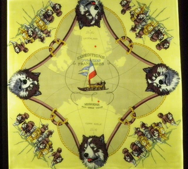 Expedition Polaires Francaise (Французские полярные экспедиции), 1951 год, Художник Hugo Grygkar