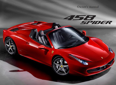Ferrari 458 Spider Owners Manual