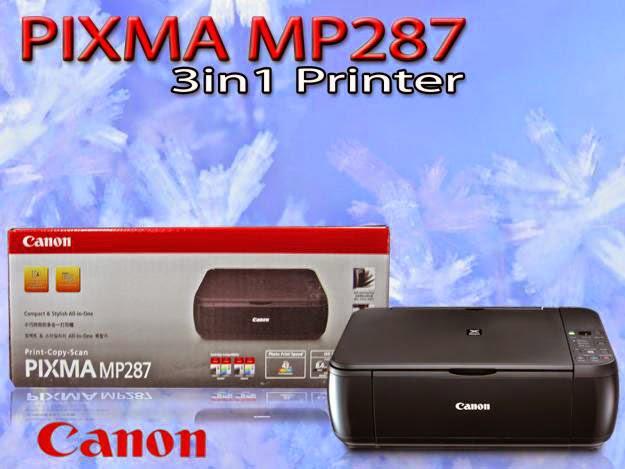 Download Driver Printer Canon Pixma MP287 Gratis,free