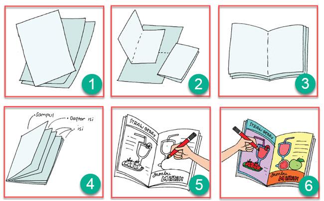 Membuat Booklet