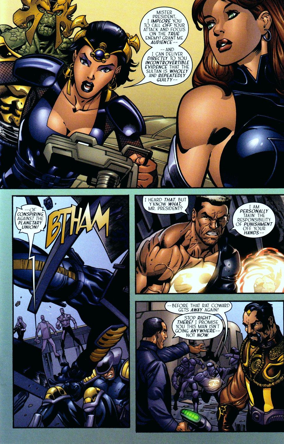 Read online Sigil (2000) comic -  Issue #14 - 16