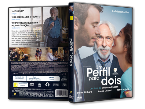 Capa DVD Um Perfil Para Dois [Custom]