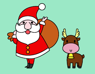 Imagens Para Celular Papai Noel Colorido Para Imprimir